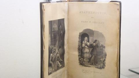 Antiquarian Book Fair marks 200th anniversary of Shelley's 'Frankenstein'