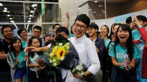 Young anti-China activists set to rile Hong Kong parliament