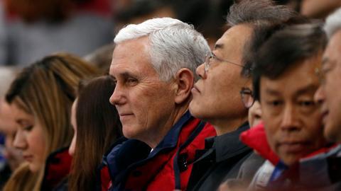 Pence raises prospect of US talks with North Korea