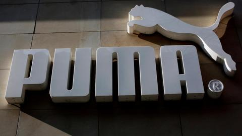 Record 2017 sales set up Puma to score at World Cup