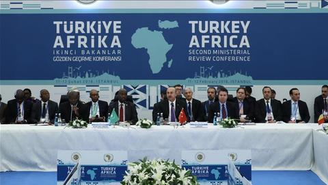 Turkey-Africa conference kicks off in Istanbul