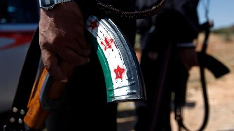 Why is the Free Syrian Army aligning with Turkey in Syria?