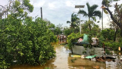 Cyclone Gita flattens parliament, wrecks homes in Tonga