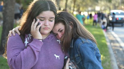 Students seek gun control on political agenda ahead of US midterms