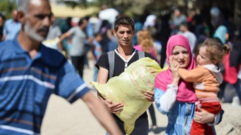 Syrians return to Jarablus from Turkey after DAESH ousted