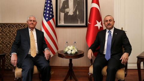 Turkey and US agree to ease strained relations
