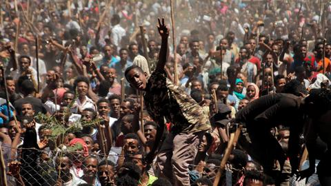 State of emergency declared in Ethiopia amid ongoing protests