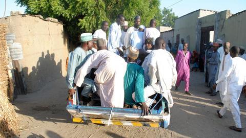 Suicide bombings kill 19 and wound 70 in Nigeria's Maiduguri