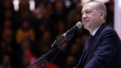 Erdogan says Afrin operation close to victory