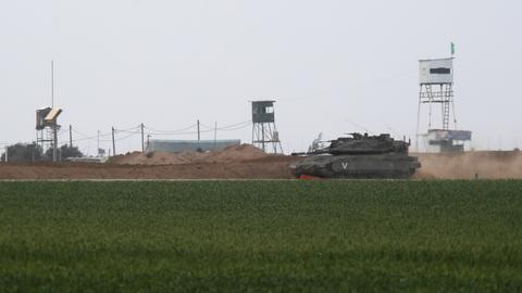 Israeli strikes kill two Palestinians in Gaza