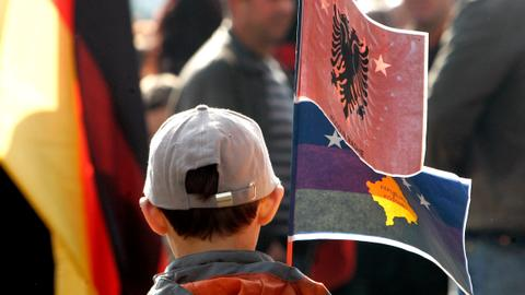 Kosovo Diary: whose flag is it anyway?
