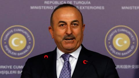 US support to YPG is a threat to Syria's future - Cavusoglu says