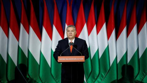 Hungary's Orban says 'Christianity is Europe's last hope'