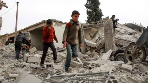 Fifteen killed in Syrian regime force attacks on Eastern Ghouta