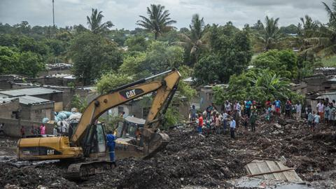 At least 17 killed in Mozambique garbage dump collapse