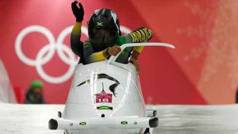 Jamaican women's bobsleigh team makes debut at the Winter Olympics