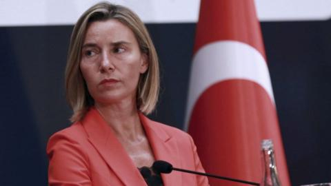 EU foreign policy chief says PKK must end violence