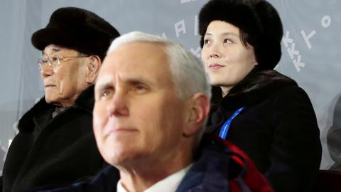 North Korea cancelled meeting with Pence at last minute