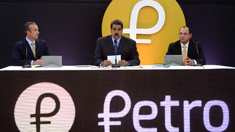 Venezuela says launch of 'petro' cryptocurrency raises $735 million