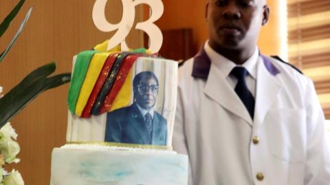 Zimbabwe's Mugabe marks 94th birthday in near solitude