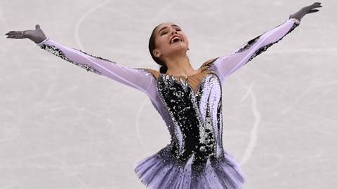 Russia's Zagitova smashes skate record as Bjoergen makes history