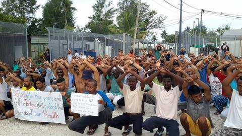 Australia's shame: The men on Manus Island
