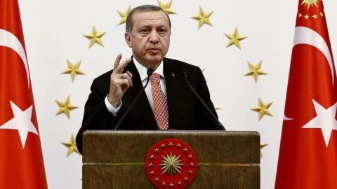 Turkey's president vows to defeat terrorism in Eid message