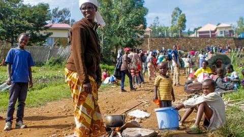 Five refugees killed, 20 injured, in Rwanda camp food protest
