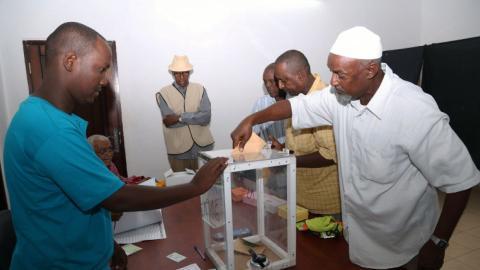 Djibouti votes in presidential election