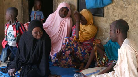 Nigeria's president calls mass schoolgirl abduction