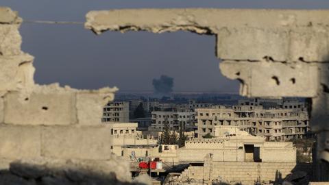 Syrian regime strikes on eastern Ghouta continue despite UN ceasefire call