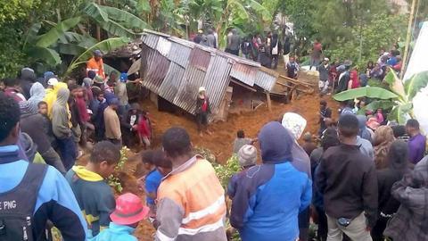 At least 14 dead in Papua New Guinea quake