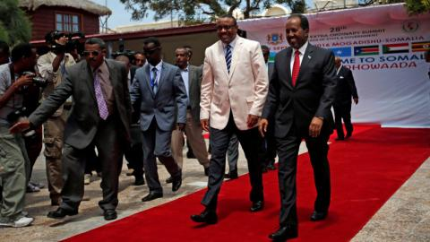 Somalia hosts first summit of African leaders in decades