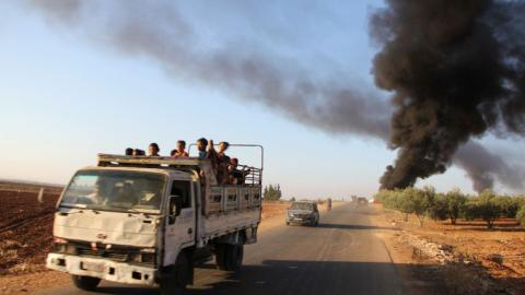 Anti-DAESH coalition strikes in Syria may have hit civilians