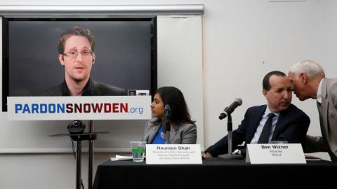 Rights groups launch campaign for Snowden pardon