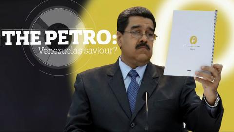 Venezuela launches oil cryptocurrency