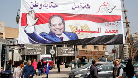 Egypt's Sisi warns insulting security forces 'equals treason'