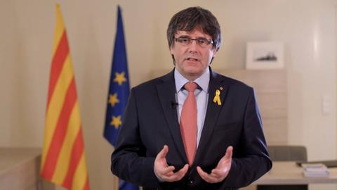 Puigdemont withdraws candidacy for Catalan presidency