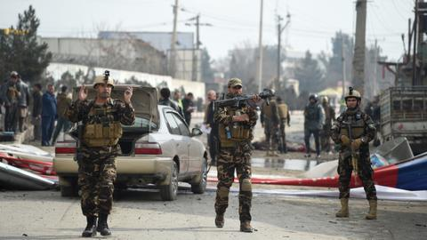 Car bomb in Afghan capital kills young girl, wounds 19