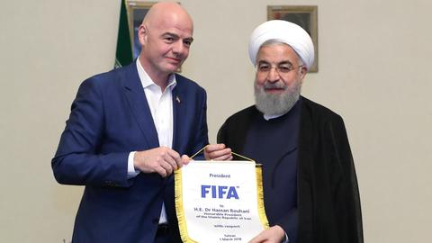 FIFA told by Iran eventually women will be allowed at games