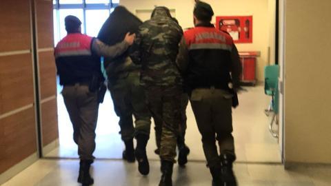 Greek soldiers arrested in northwest Turkey