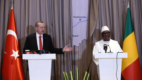 Turkey's president ends four-nation African tour