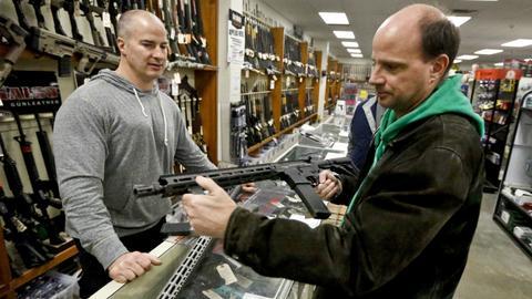 'Trump slump' in gun sales continues despite control debate