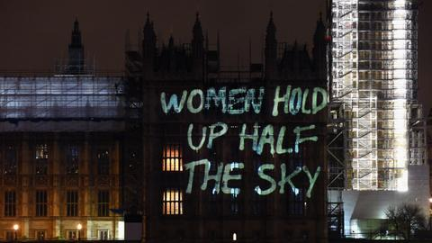 International Women's Day in a man's world
