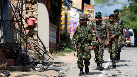 Fresh anti-Muslim riots in Sri Lanka target a mosque and shops