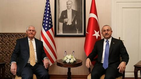 Turkey, US begin talks in Washington to normalise relations