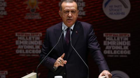 President Erdogan says Turkey can enter Afrin centre 'at any moment'