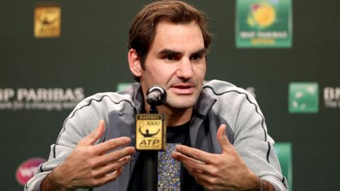 Federer hopes to avenge loss to Delbonis