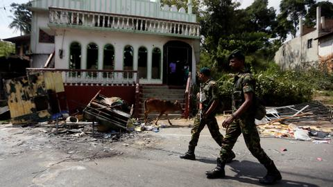 Sri Lankan police ask who promoted violence against Muslims