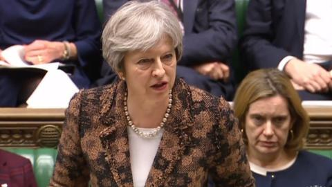 UK's May says Russia 'highly likely' behind poisoning of spy